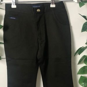 Guess Size Large Black Pants NWOT Sweet